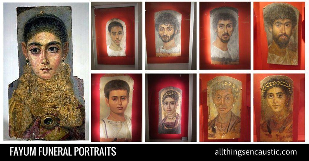 Fayum funeral portraits