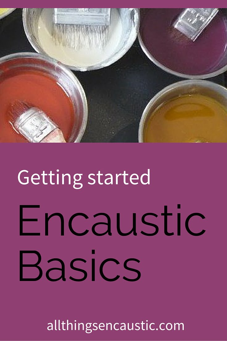 If you're interested in painting with encaustics this post will help you get started with the right supplies and tools. Check out allthingsencaustic.com for more