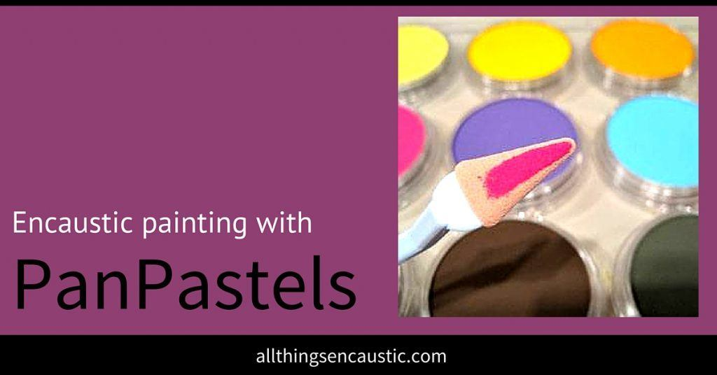 Encaustic painting with PanPastels