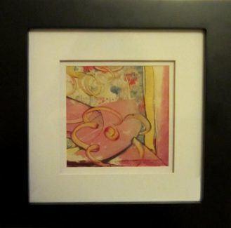 Encaustic Monoprint by Ruth Martin-Maude