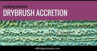 drybrush accretion