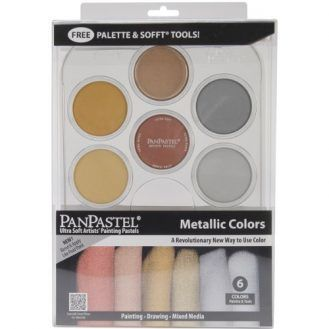 Colorfin PanPastel Metallics Kit (30077)