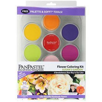 Colorfin PanPastel Ultra Soft Susan's Garden Artist Pastel Set, 9ml, Flower, 10-Pack