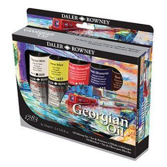 Daler-Rowney Georgian Oil Classic Set--75 ml tubes