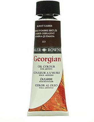 Daler-Rowney Georgian Oil Colours (Burnt Umber) - 75 ml 1 pcs sku# 1829027MA