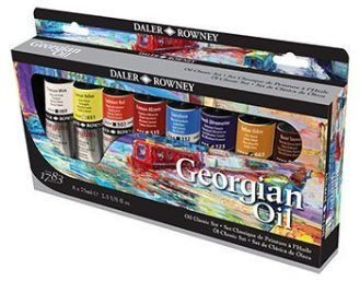 Daler-Rowney Georgian Oil Mixing Set, 75ml