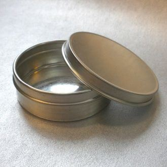 Empty Metal Cups- 2 oz Individual Cup with lid