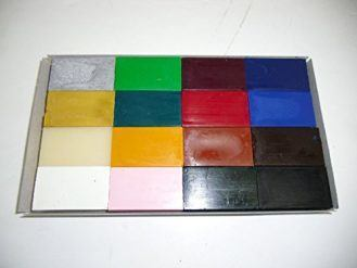 Encaustic Art Wax 16 Wax Block Colors Starter Set Encaustic Wax New in the Box
