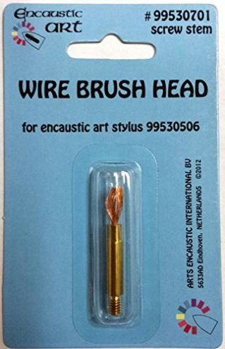 Encaustic Art Wire Brush Head Replacement Tip for Encaustic Art Stylus 99530506