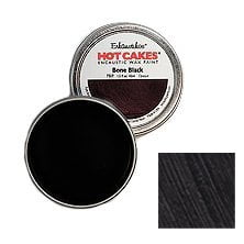 Encaustic Wax Paint Hot Cakes Bone Black 1.5 fl oz (45ml) in Metal Cup