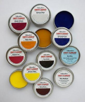 Encaustic Wax Paint Set- Academy Hot Cakes Set