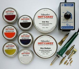 Encaustic Wax Paint Set- Contemporary Hot Cakes Set