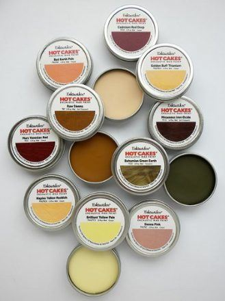 Encaustic Wax Paint Set- Extended Portrait Hot Cakes Set