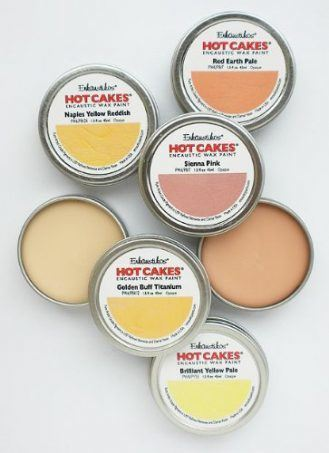 Encaustic Wax Paint Set- Portrait Hot Cakes Set
