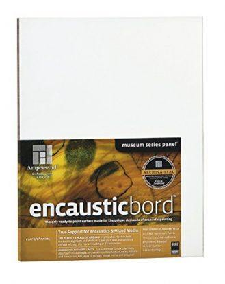 Encausticbord 1/8 Inch - 6x6 Inch Pack of Four
