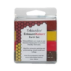 Enkaustikos EnkaustiKolors Earth Set of 4 Encaustic Sticks