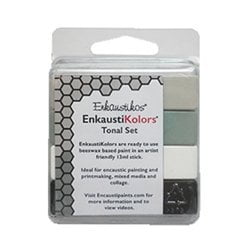 Enkaustikos EnkaustiKolors Tonal Set of 4 Encaustic Sticks