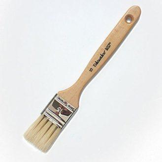 Enkaustikos Slotted Hog Bristle Brushes - No.15 (1-1/4 Inches Wide)