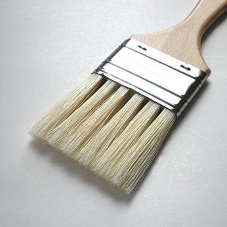 Enkaustikos Slotted Hog Bristle Brushes - No. 27 (Approximately 2-1/4 Inches Wide)