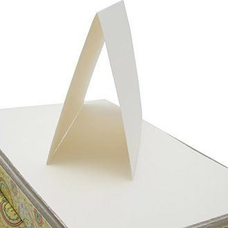 Fabriano Medioevalis Stationery- Medioevalis Folded Card 4.5x6.75 Inch Box of 100