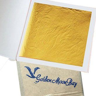 """GoldenMoonBay Gold Leaf Sheets 