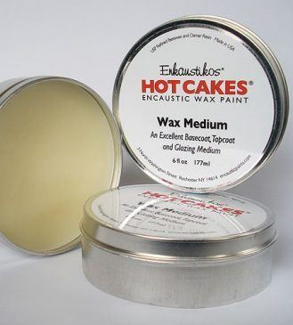 Hot Cakes Wax Medium - 6oz (180ml) in Tin by Enkaustikos