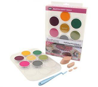 Colorfin 30076 Pan Ultra 9ml Soft Artist Pastel Set (7 Per Package)