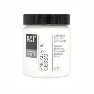 R&F Handmade Paints Encaustic Gesso, 4-Ounce
