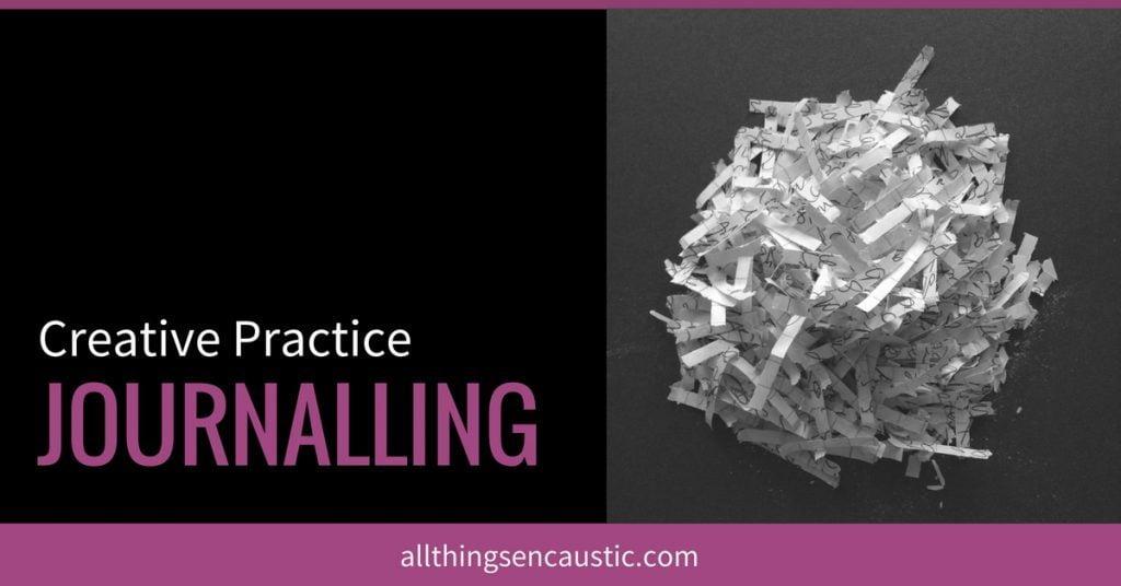 Creative Practice Journalling