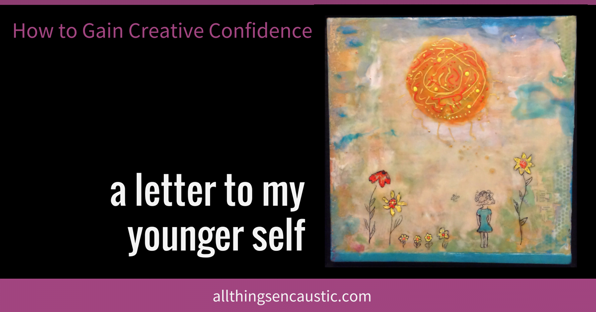 How to Gain Creative Confidence - a letter to my younger self