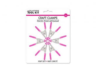 Crafter's Toolkit Round Craft-Clamps, Heavy Duty, 6-Piece