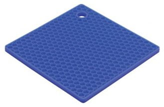 HIC Brands that Cook The Essentials Honeycomb Silicone Trivet, 7-Inch