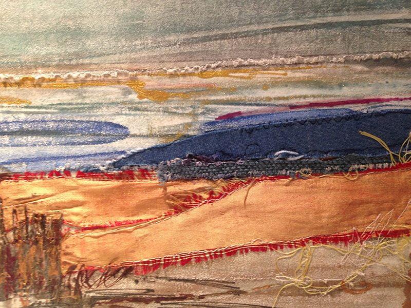 Encaustiflex Monotype Landscape by Ruth Martin-Maude