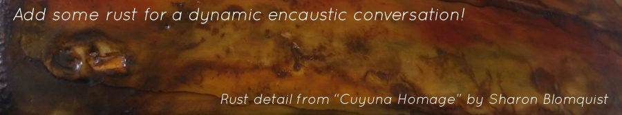 Encaustic rust