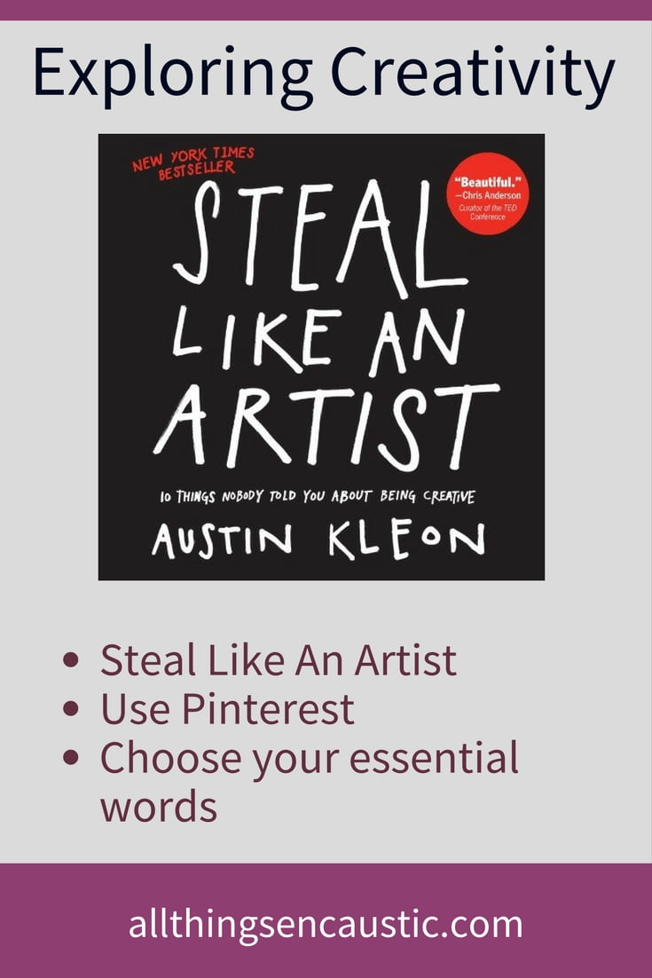 In Steal Like an Artist: 10 Things Nobody Told You about Being Creative by Austin Kleon gives us permission to look at the work of others for our education. In this post I describe how I used Pinterest to help me Steal Like An Artist