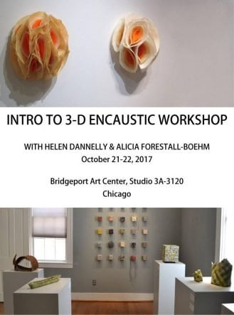 Intro to 3D Encaustic Sculpture | Learn basic structural techniques for creating three dimensional forms and using encaustic.