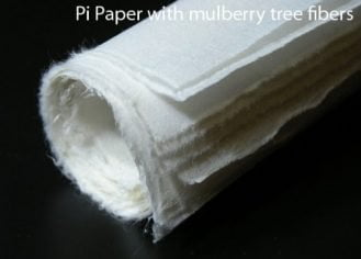 "BlueHeronArts Thin Mulberry Paper #1 for Chinese Painting or Sumi-e (13"" X 17"") 30 Sheets"