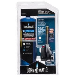 BERNZOMATIC TS1500KC 14.1 Oz TRIGGER START PROPANE TORCH KIT