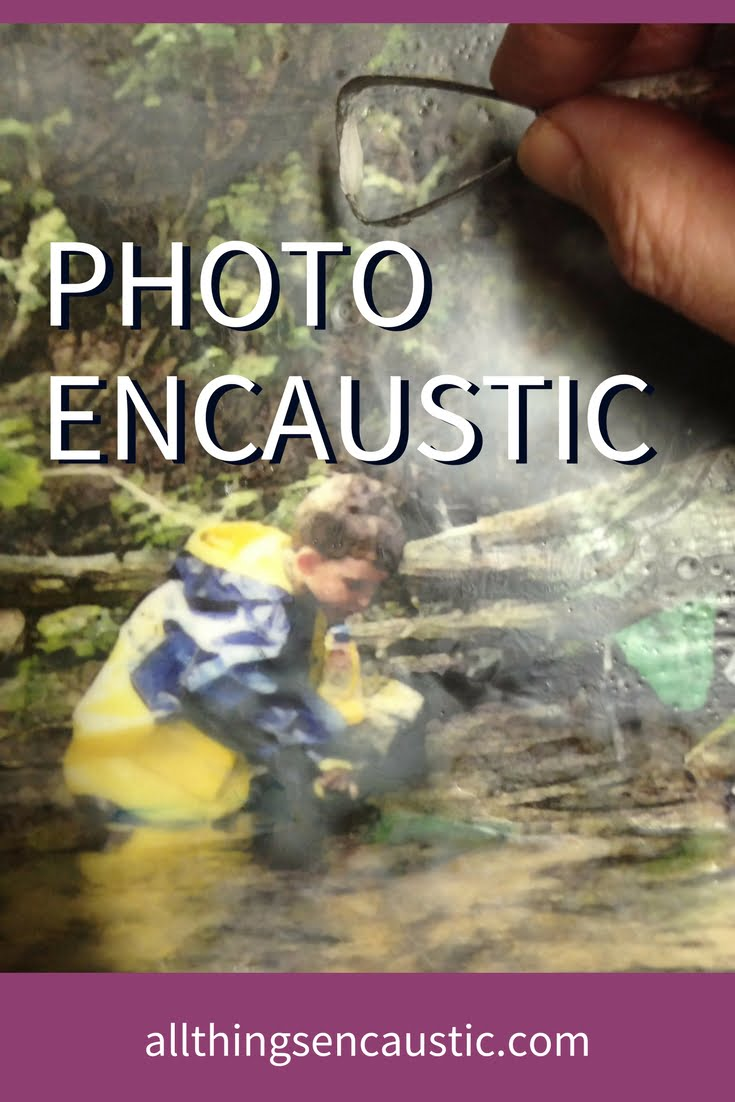 Encaustic Photography Tutorial | Painting Photographs with wax allthingsencaustic.com