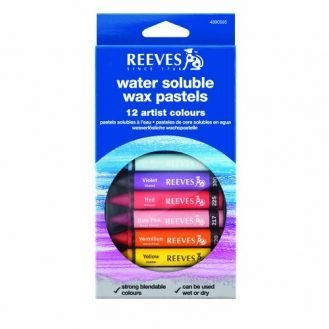 Reeves Water Soluble Wax Pastels