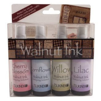 Tuskineko Walnut Ink Sampler II, 4-Pack