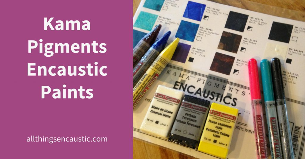 Kama Pigments Encaustic Paints