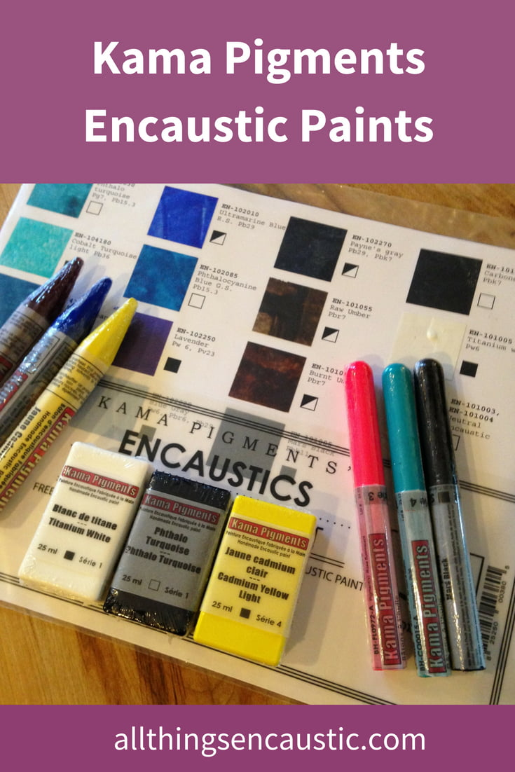 Encaustic Paints by Kama Pigments