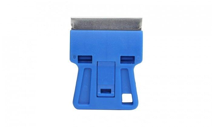 plastic razor blade holder