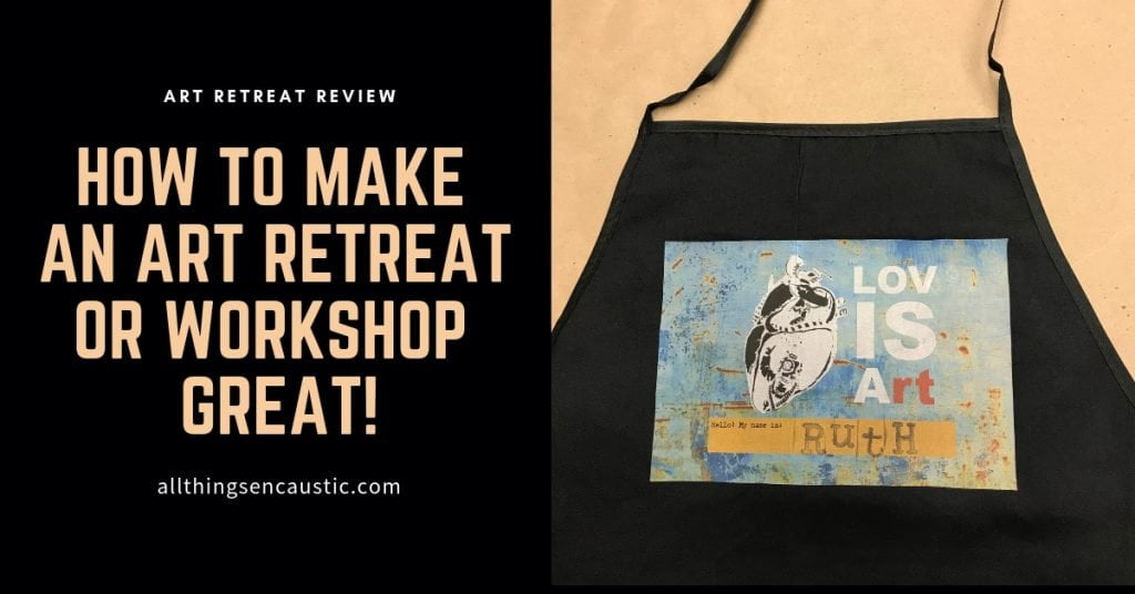 How to make an art retreat or workshop great