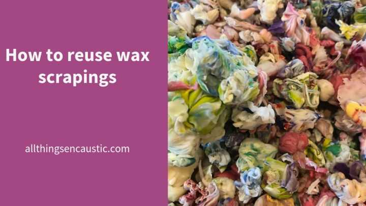 How to reuse was scrapings